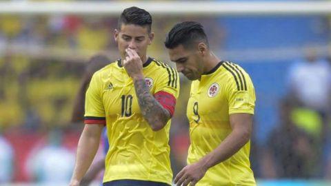 James y Falcao en plantel de Colombia ante Venezuela y Chile