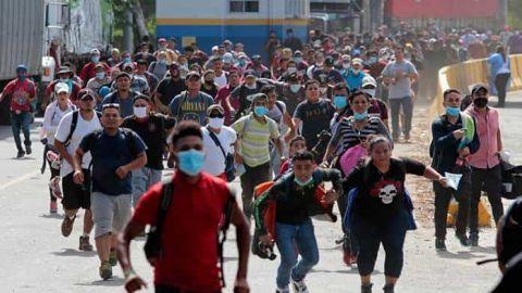Niegan que migrantes sea riesgo sanitario para México