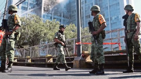 Aliado de la 4T quiere a Ejército en las calles por siempre