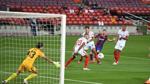 Barcelona y Sevilla firman las tablas en el Camp Nou