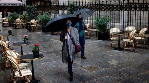 París entra mañana en alerta máxima por la expansión del coronavirus