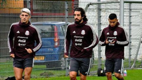 El 'Tata' ya trabaja con equipo completo de cara al partido ante Holanda