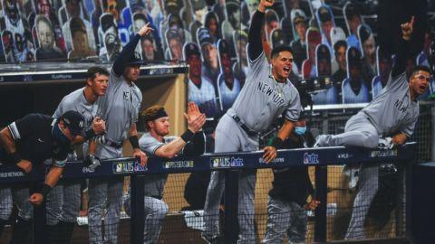 Yankees aplastan a Tampa Bay en el Juego 1 de la Serie Divisional
