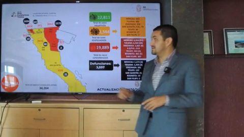 Cerca Baja California de las 3 mil 600 muertes por Covid19