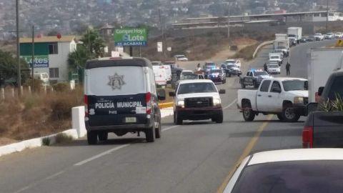 Atacan a balazos a pareja en Ensenada