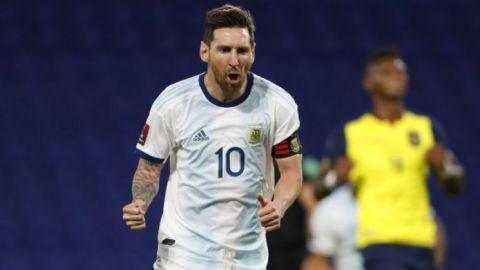 Messi, otra vez la diferencia para Argentina en eliminatorias