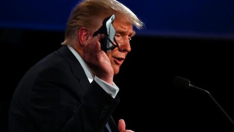 Trump dará discursos ante cientos de personas el sábado y lunes pese al COVID