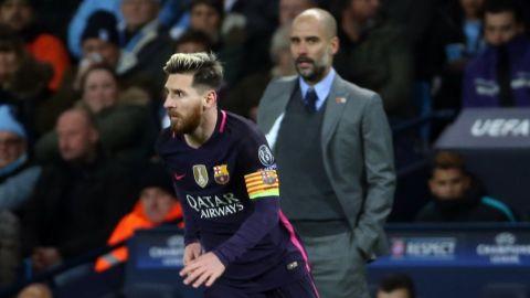 Manchester City insiste en reunir a Messi con Pep