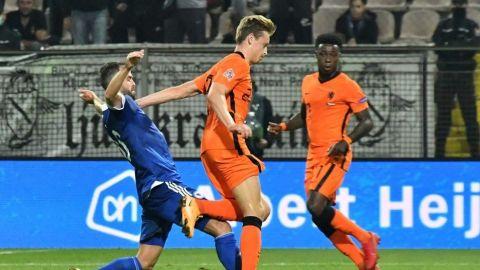 La Holanda de Frank de Boer no arranca
