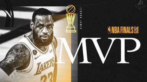 VIDEO: ¡El 'Rey' es el Jugador Más Valioso otra vez! LeBron James es 4 veces MVP
