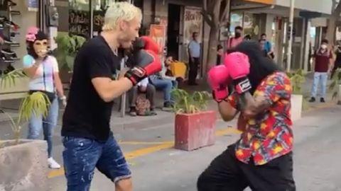 VIDEO: Julio César Chávez Jr. pelea con el Chango 0 Te