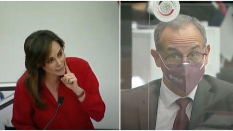 Lilly Téllez responde con meme de López-Gatell