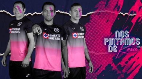 El Cruz Azul estrenará uniforme contra Tigres