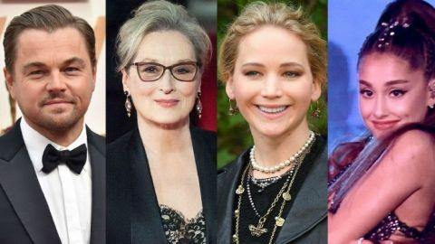 DiCaprio, Meryl Streep y Jennifer Lawrence juntos en nueva película