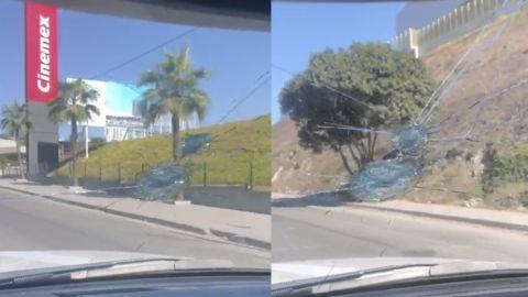 VIDEO: Alertan de ''pedradas'' en avenida de la 5 y 10