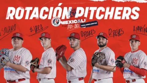 Pedro Meré define a su staff de lanzadores