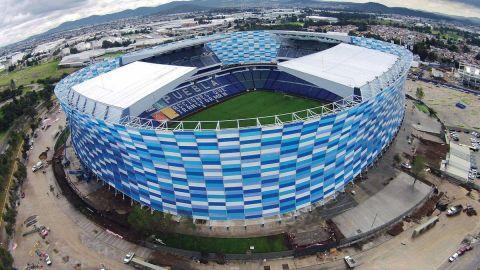 El Estadio Cuauhtémoc recibirá aficionados, adelanta Miguel Barbosa