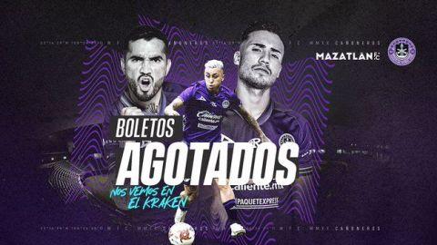 Mazatlán anuncia que no hay boletos para su siguiente duelo