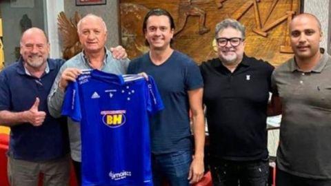 Cruzeiro contrata a Luiz Felipe Scolari para tratar de evitar otro descenso