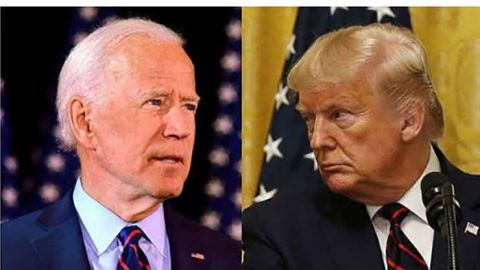 Trump y Biden exhiben abismo de diferencias
