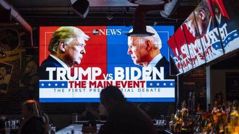 Biden supera a Trump en primeras mediciones audiencia tras eventos televisados: