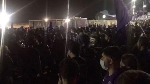 Tras buen control dentro del estadio, afición del Mazatlán provoca un caos
