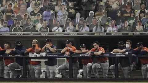 Adiós a los chicos malos; Astros eliminados