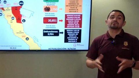 Continuará Baja California en Semáforo Naranja