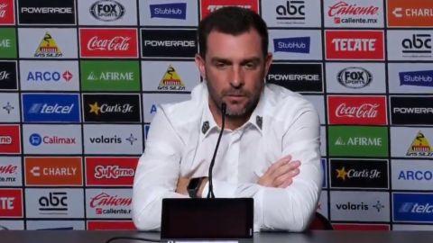 Pablo Guede: No esperaba este resultado