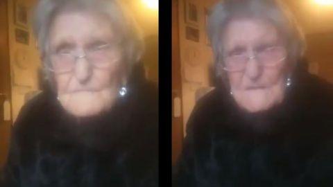 Se me acaba el tiempo: mujer de 104 años suplica que la dejen ver a su familia