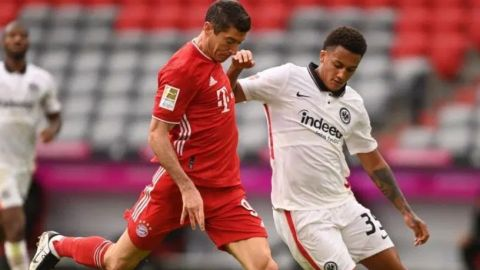 Lewandowski lidera la goleada del Bayern; el Leipzig gana y sigue líder