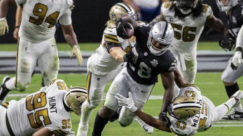 Raiders y Saints con buenas noticias rumbo a juegos dominicales