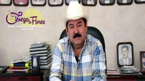 Reportan grave al alcalde de Nuevo León por Covid-19