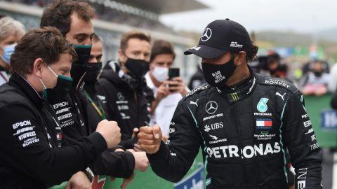 Lewis Hamilton sigue forjando su leyenda