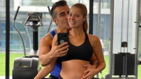 Adrián Uribe y Thuany Martins ya son papás y muestran a su bebé