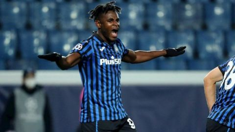 Duván Zapata rescata al Atalanta ante el Ajax
