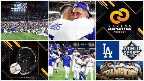 CADENA DEPORTES PODCAST: Dodgers festejan y Armando Esquivel nos da su análisis