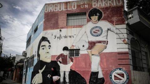 """Declaran a La Paternal """"La Capital Mundial del Futbol"""" en honor a Maradona"""