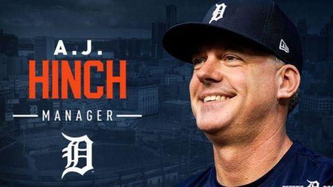 AJ Hinch es el elegido para manejar a los Tigres