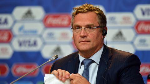 Exfuncionario FIFA Jerome Valcke, condenado en juicio por derechos de TV