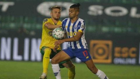 Porto y 'Tecatito' vuelven a caer la liga de Portugal