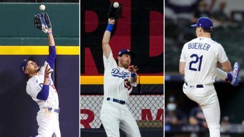 """Dodgers parecen tener su propio """"Core Four"""""""