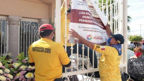 Prohíben acceso a panteones en México por Covid-19