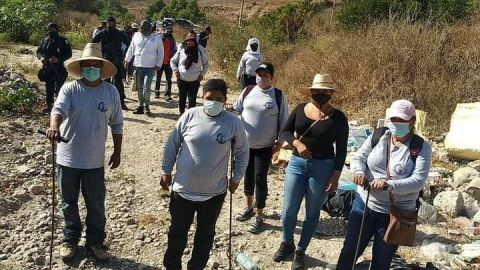Colectivos de familiares desaparecidos localizan a un bebé sin vida en Tijuana