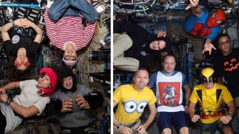 Así se celebra Halloween desde la Estación Espacial Internacional