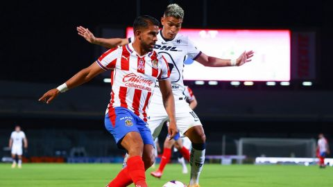 VIDEO: Vibrante empate entre Chivas y Pumas
