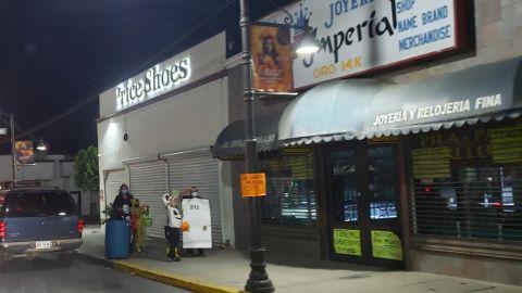 Poca participación en Halloween en Tecate