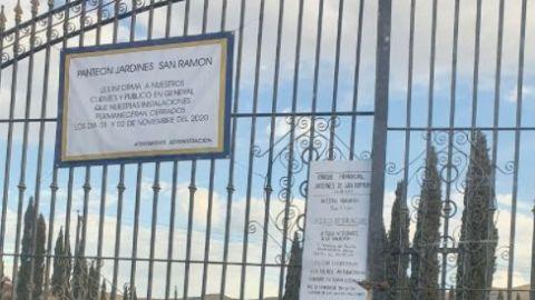 Cierran panteones privados; municipales con restricciones