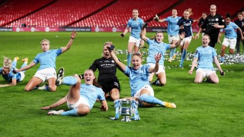El Manchester City revalida su título de Copa en la prórroga