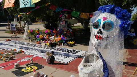 Montan altar de muertos en contra de Constellation Brands